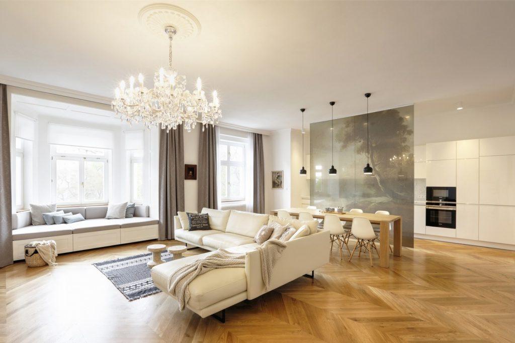 Súťaž Interiér roku: Rekonštrukcia bytu v historickom dome v Prahe