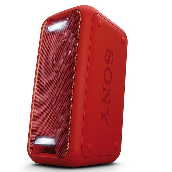 Audio systém GTK-XB5 smohutným zvukom, živým osvetlením ajednoduchým bezdrôtovým pripojením, 52,4 × 26,8 cm, 250 €, Sony