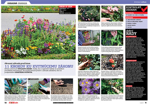 Vyšiel Urob si sám 1/2017! Kompletný záhradný poradca 2017!