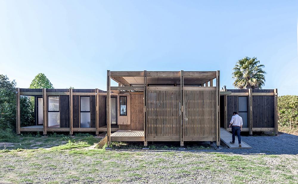 Dom ako skladačka: Vie sa prispôsobiť potrebám obyvateľov