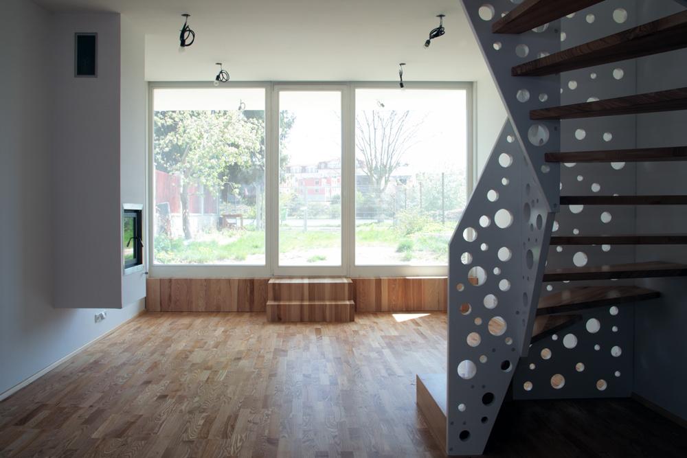 Atypický dom na 7-metrovom pozemku
