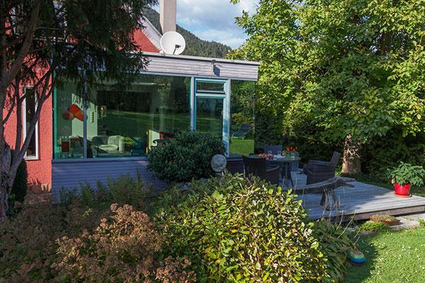 Ako to vyzerá, keď je záhrada inšpiráciou pre dom umelca