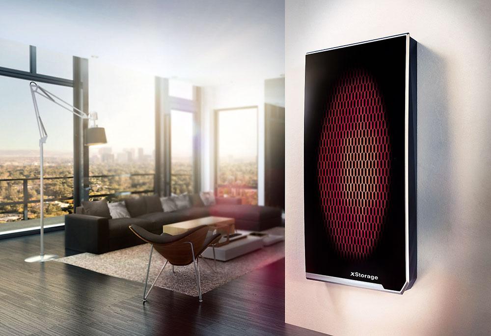 Nová jednotka na ukladanie energie pre domácnosti xStorage HOME od spoločností Nissan aEaton predstavuje spoľahlivý adostupný, plne integrovaný systém, ktorý vám umožní zvoliť si, kedy aako budete využívať elektrickú energiu.