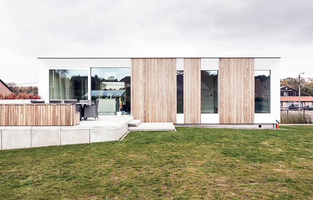 Modulový dom s nulovou spotrebou energie