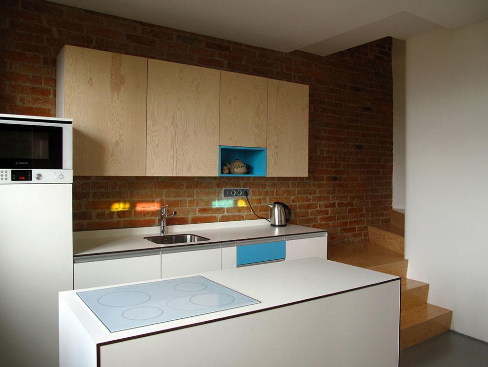 Dokonale obrátený dom: Ako sa pôvodná tehlová fasáda dostala natrvalo dovnútra domu