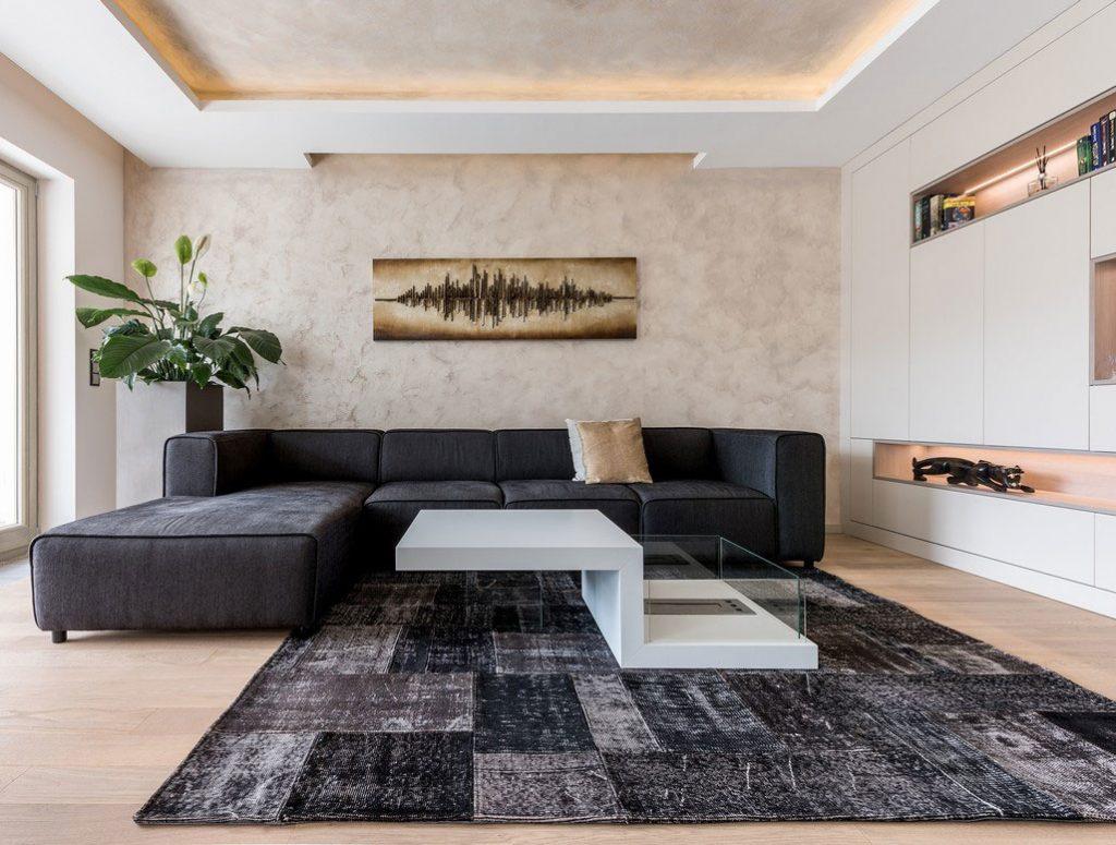 Súťaž Interiér roku: Moderne zariadený byt plný svetla s výhľadom na rieku