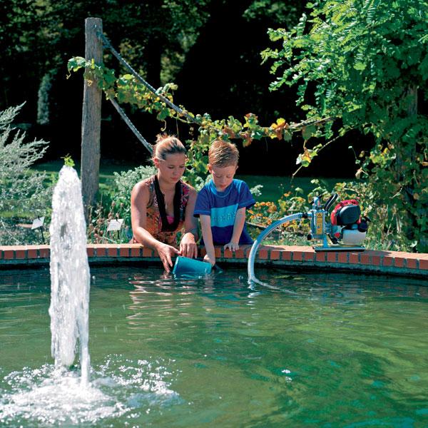 Záhrada – keď technika krotí vodu