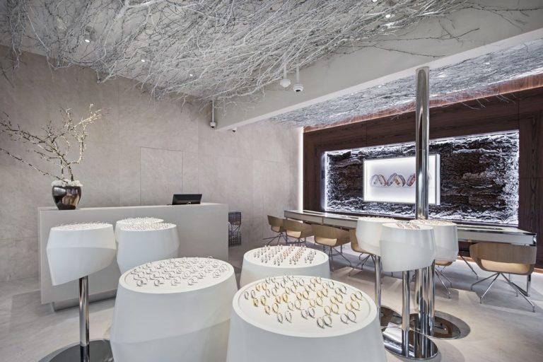Súťaž Interiér roku: Renovácia interiéru klenotníctva
