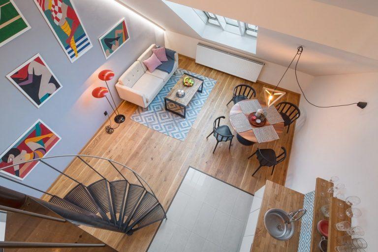 Súťaž Interiér roku: Mezonet v podkroví secesného domu s krásnym výhľadom