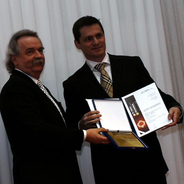 Xella získala čestné uznanie za výrobok Ytong Multipor a cenu Zlatý Leonardo