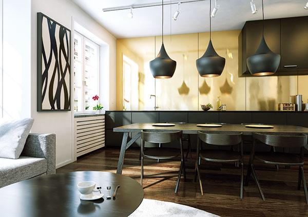 Sklenené sálavé panely ECOSUN G spotlačou kombinujú komfortné sálavé vykurovanie soriginálnym vzhľadom. Sú teda nielen efektívnym zdrojom príjemného tepla, ale aj príjemným oživením interiéru. (Predáva Fenix Slovensko.)