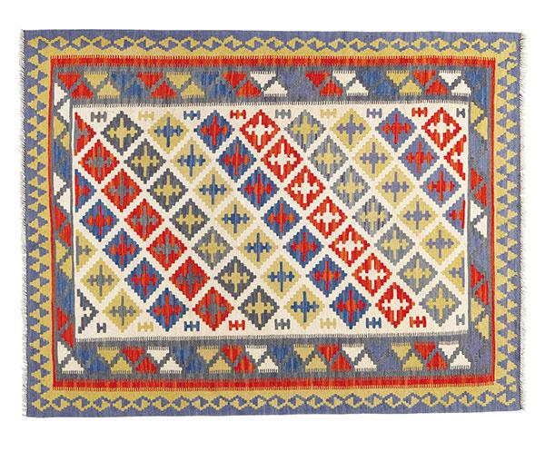 Hladko tkaný koberec Persisk Kelim Gashgai, 125 × 180 cm, 199 €, IKEA