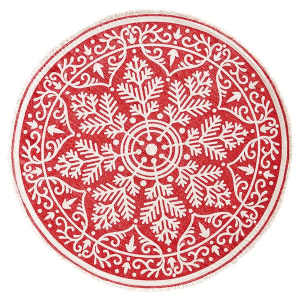 Podložka pod vianočný stromček z bavlny, priemer 90 cm, 21,95 €, www.halens.sk