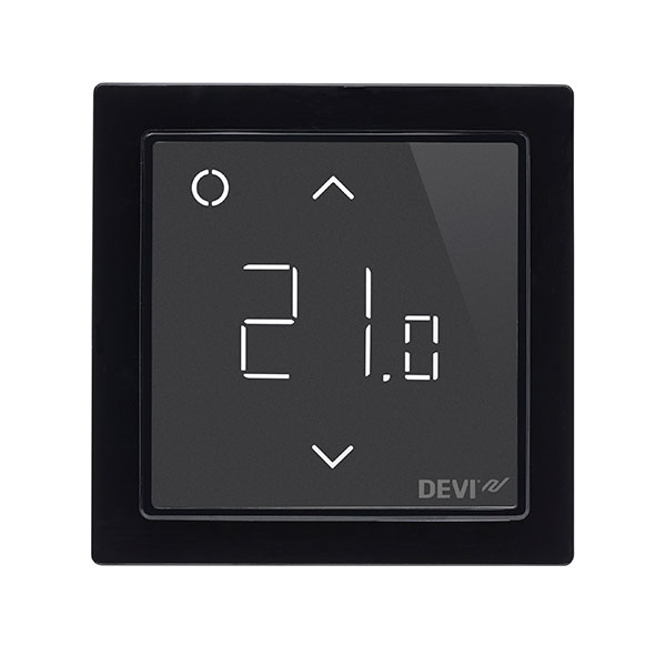 DEVIreg™ Smart je štýlový dekoratívny doplnok modernej domácnost. Dodáva sa v 4 farebných prevedeniach: biela, polárna biela, slonová kosť a čierna