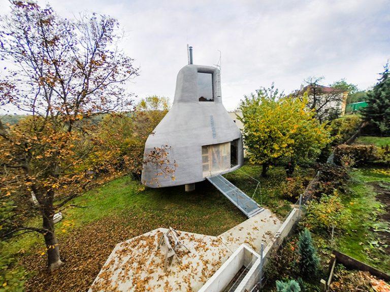 Futuristický dom u našich susedov, aký ste ešte určite nevideli!