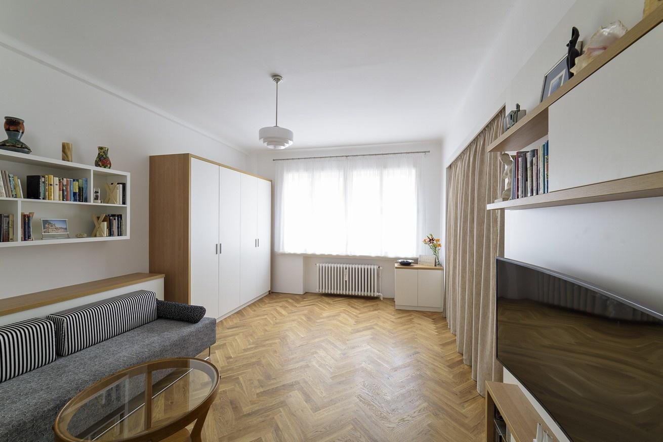 Apartmán na Letnej – redizajn malometrážneho bytu
