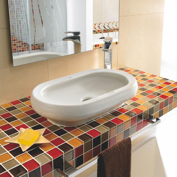 Kúpeľňové novinky vo farebnom a živom štýle