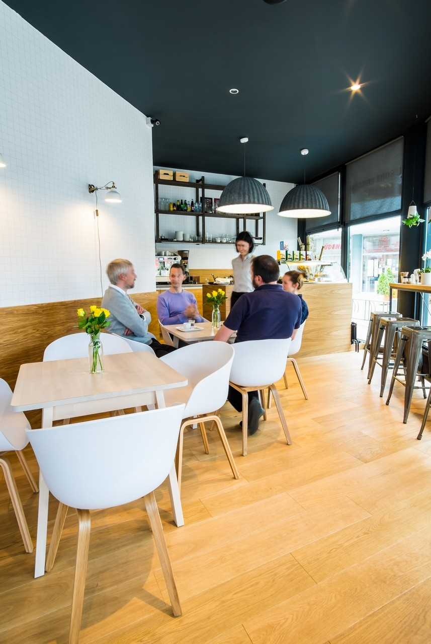 Súťaž Interiér roku: Kaviareň u S oba Boba
