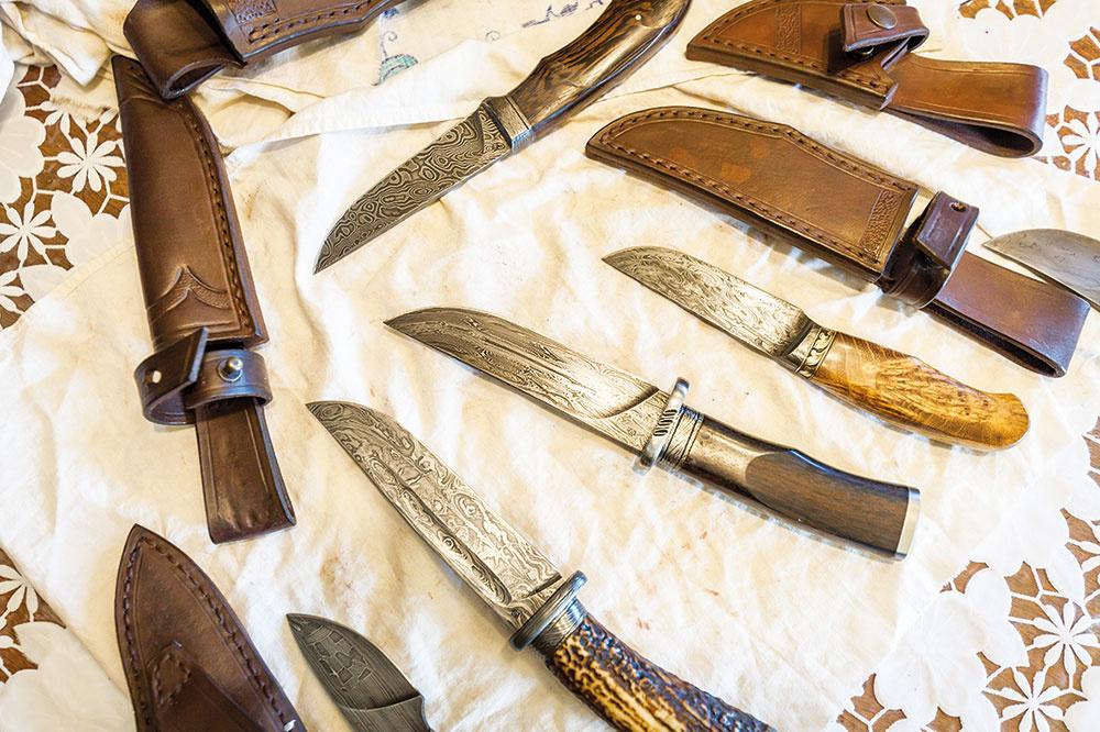 Jankove nože, poctivá ručná výroba.