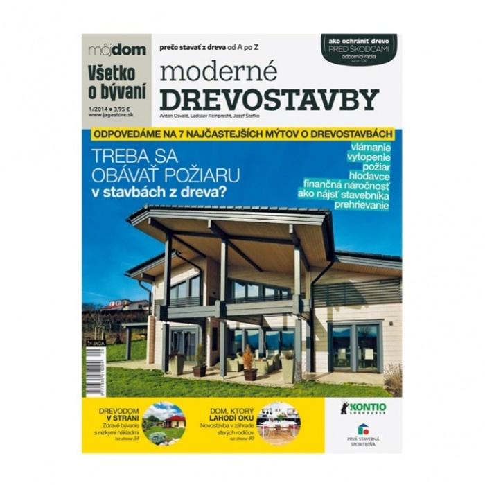 5. cena: 1 x publikácia Moderné drevostavby