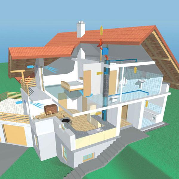 Komponenty pre bezpečné a zdravé bývanie v energeticky úsporných domoch