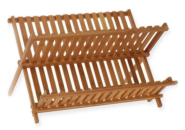 Bambusový skladací od značky Taketokio, 42 × 32 × 26 cm, 15,91 €, www.bigbuy.eu
