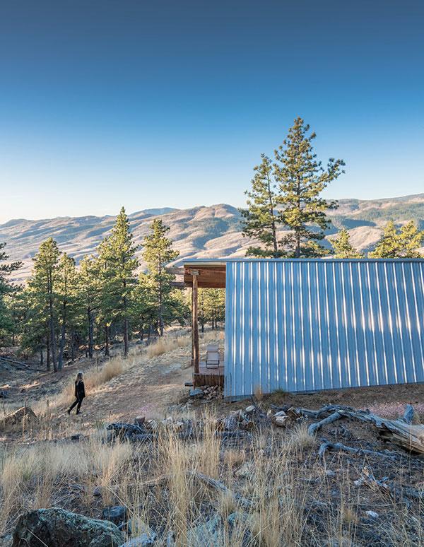 Pasívny domček v horách: Bez penových hmôt a energeticky náročných materiálov