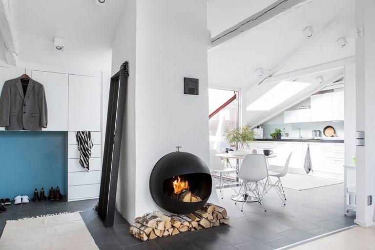 Ideálny pre plnohodnotné bývanie: Očarujúci štvorizbový byt v severskom štýle