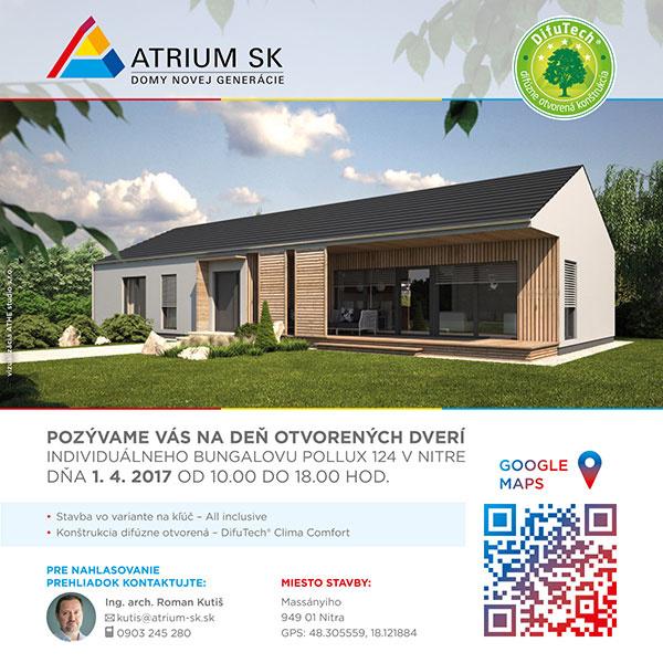 Inšpirujúci dom od firmy Atrium SK z radu Exclusive