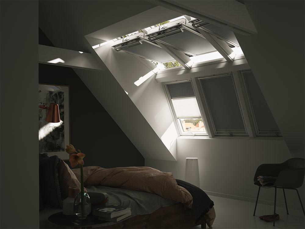 Úplne zatemňujúce tieniace doplnky sa postarajú o váš kvalitný spánok nielen v noci, ale aj počas dňa.
