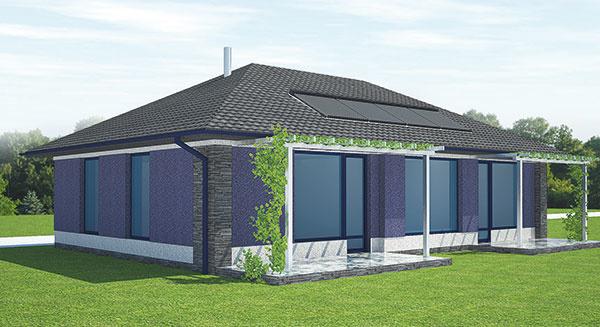 Projekt rodinného domu Rival