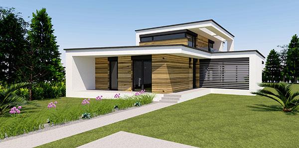 Dvojpodlažný rodinný dom FRAME HOUSE