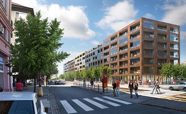 Račianska ulica dostane charakter mestskej triedy, Foto – Archív Urban Residence
