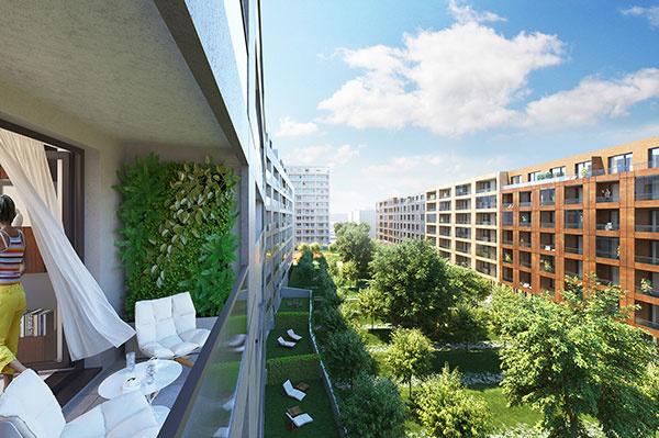 Mestskí ľudia chcú mať všetko po ruke – služby aj kúsok zelene, Foto – Archív Urban Residence
