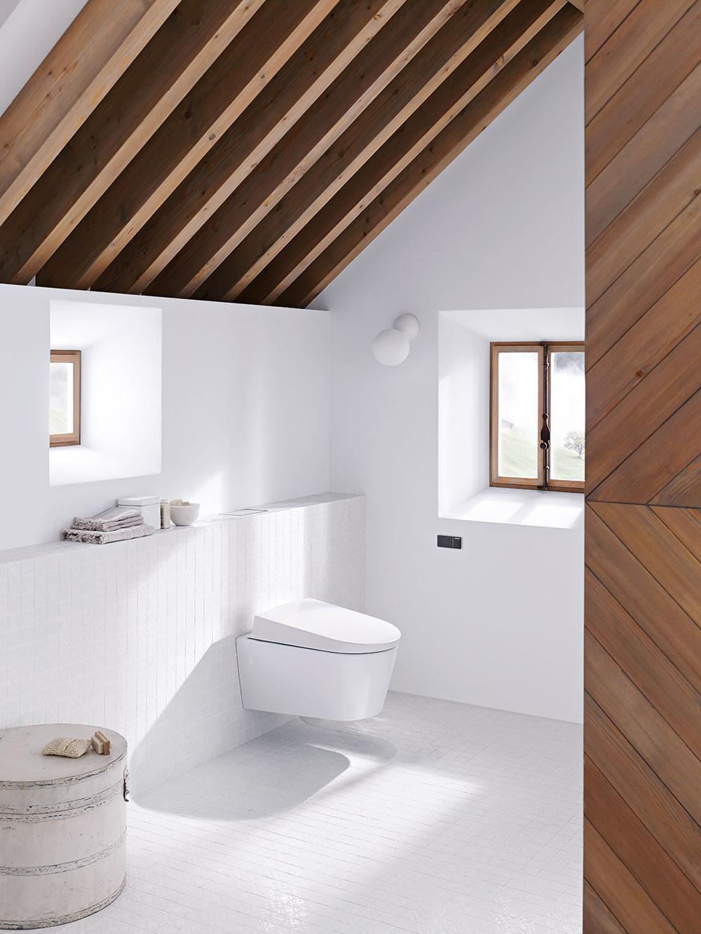 Do malých priestorov, napríklad vpodkroví, sú vhodné znížené nádržky. Podomietková splachovacia nádržka Geberit Omega 12 cm sa dodáva vinštalačných systémoch Geberit Duofix aGeberit Kombifix pre závesné WC. Vďaka trom výškam je vhodná aj vprípadoch, keď ste obmedzení výškou, napríklad pod nízkym oknom alebo šikmou strechou.