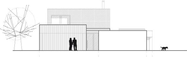 Projekt rodinného domu NED K15