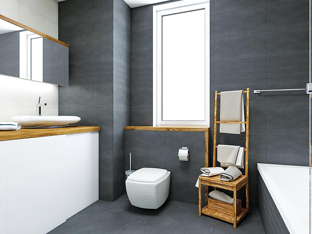 WC spodomietkovým splachovaním prispieva kčistote návrhu.