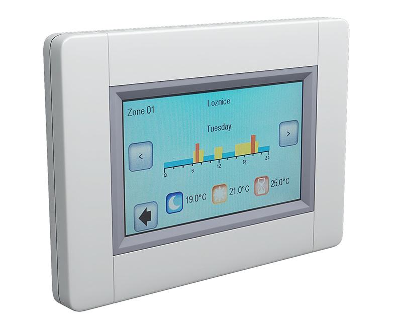 Wifi centrálna jednotka pre reguláciu elektrického vykurovania Fenix