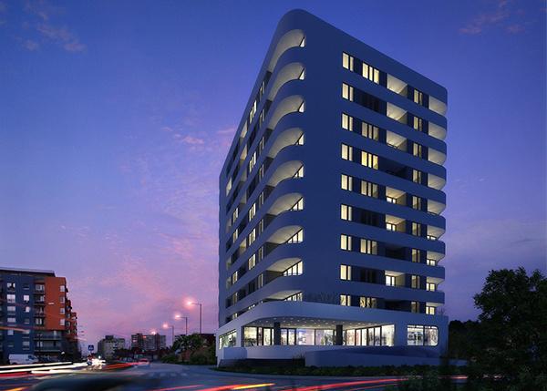 Podunajskobiskupický MENDELSOHN ponúka byty v architektonicky zaujímavom projekte