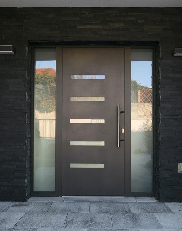 Hliníkové vchodové dvere novej generácie