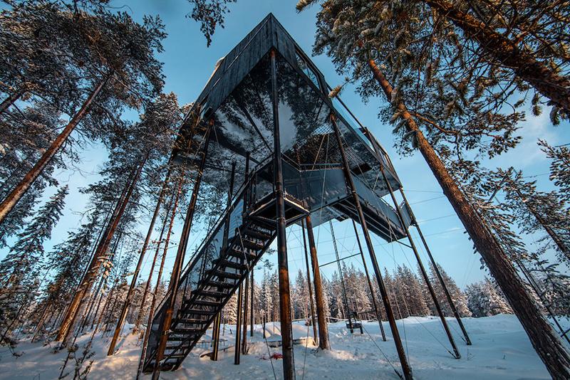 Ako sa býva v dome, ktorý je vo výške 10 metrov nad zemou?