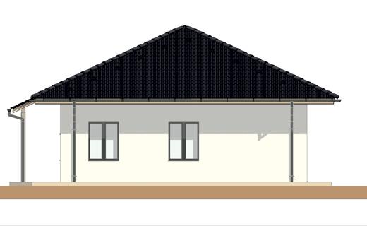 Projekt rodinného domu Bungalov K1