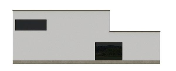 Projekt poschodového rodinného domu 1609