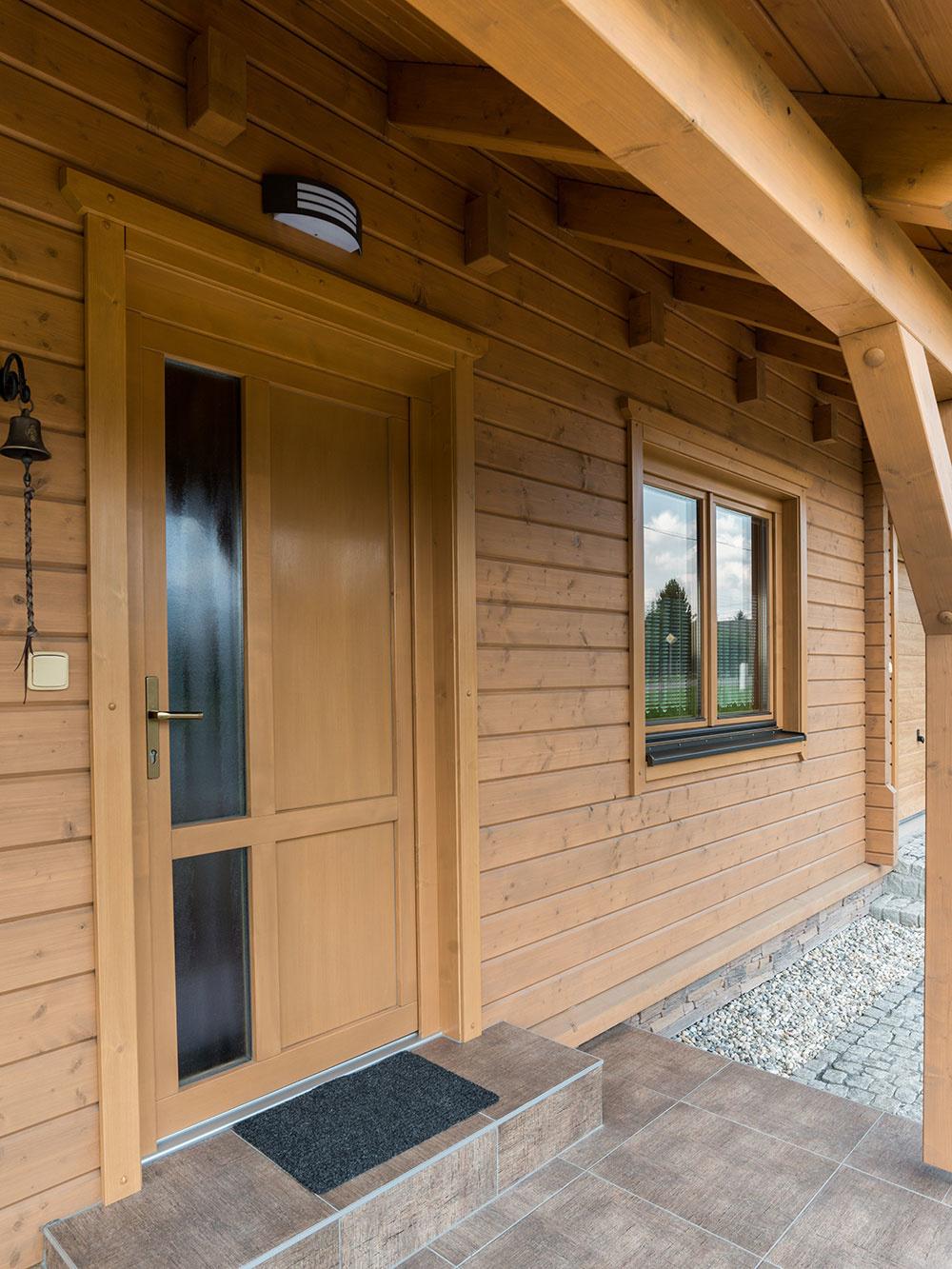 Bezbariérový bungalov s nízkou spotrebou energie a s príjemnou vôňou dreva
