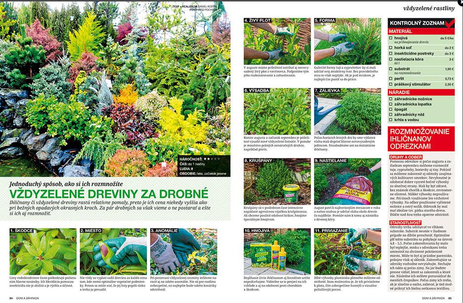 Dom a záhrada - nová publikácia v predaji