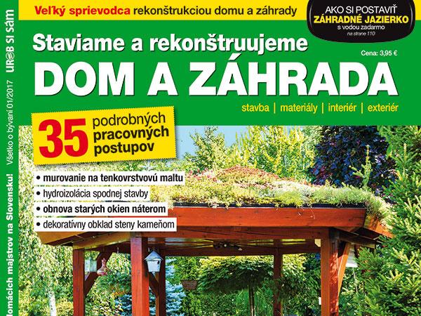 Dom a záhrada – nová publikácia v predaji