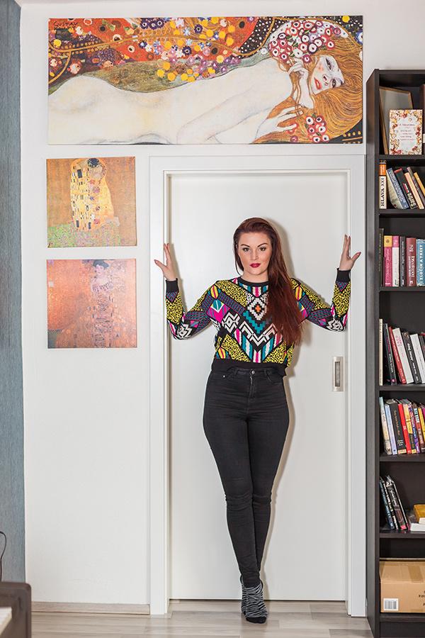 Ako býva herečka a speváčka Barbora Švidraňová