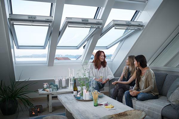 Vetrať môžete kedykoľvek; okná otvorte hneď, ako sa začne v miestnosti vydýchavať vzduch.