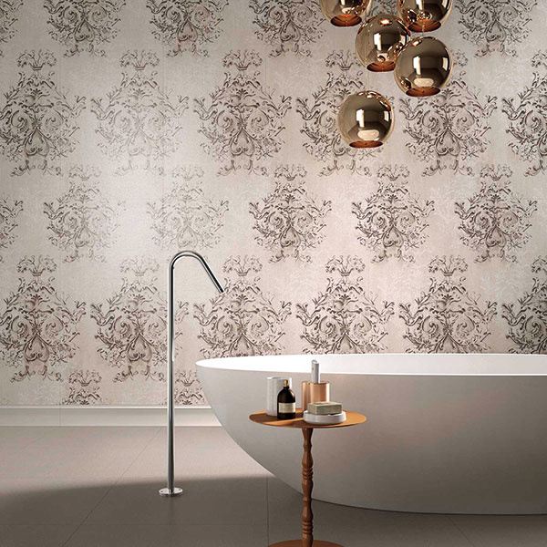 V bohatej ponuke keramických obkladov a dlaždíc od značky Ariana zaujme aj kolekcia Canvas, ktorá je inšpirovaná štruktúrami textilných vláken, napríklad damasku a brokátu. Predáva kúpeľňové štúdio Marktech, Lightpark.