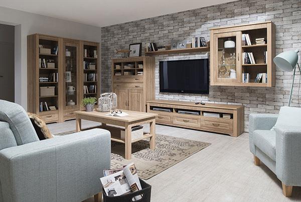 Moderný nábytok s klasickým dizajnom